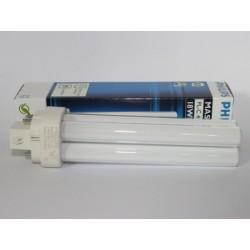 Ampoule fluocompacte PHILIPS MASTER PL-C 18W/827/4P
