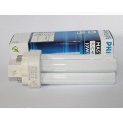 Compact fluorescent bulb PHILIPS MASTER PL-C 10W/830/4P