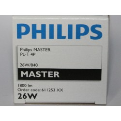 PHILIPS MASTER PL-T 26W/840/4P