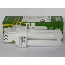 Ampoule Fluocompacte GE Biax D 10W/827