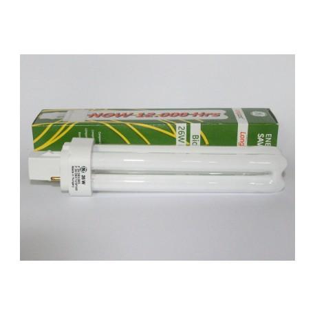 Ampoule Fluocompacte GE Biax D 26W/840