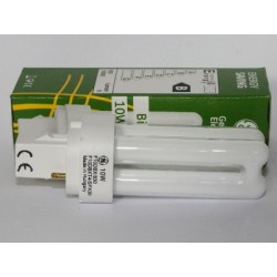Ampoule Fluocompacte GE Biax D 10W/835
