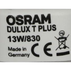 Ampoule OSRAM DULUX T 13W 830