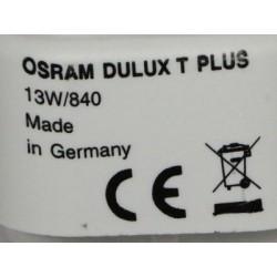Bulb OSRAM DULUX T 13W 840