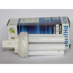 Ampoule fluocompacte PHILIPS MASTER PL-T 13W/840/2P