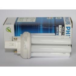Ampoule fluocompacte PHILIPS MASTER PL-T 18W/827/2P