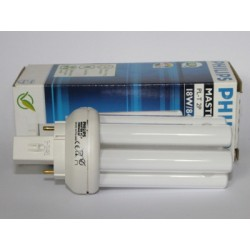 Ampoule fluocompacte PHILIPS MASTER PL-T 18W/840/2P