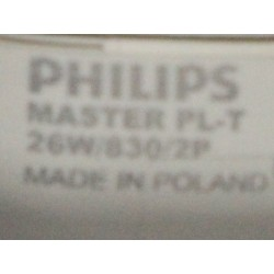 PHILIPS MASTER PL-T 26W/830/2P
