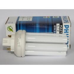 Ampoule fluocompacte PHILIPS MASTER PL-T 18W/830/4P