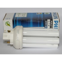 Ampoule fluocompacte PHILIPS MASTER PL-T 18W/840/4P