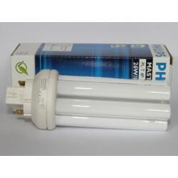 Ampoule fluocompacte PHILIPS MASTER PL-T 26W/830/4P
