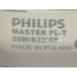 PHILIPS MASTER PL-T 26W/830/4P