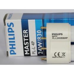 Compact fluorescent bulb PHILIPS MASTER PL-L 24W/830/4P