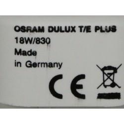 Ampoule OSRAM DULUX T/E 18W/830