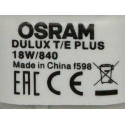 Ampoule OSRAM DULUX T/E 18W/840
