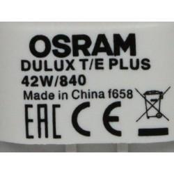 Ampoule OSRAM DULUX T/E 42W/840