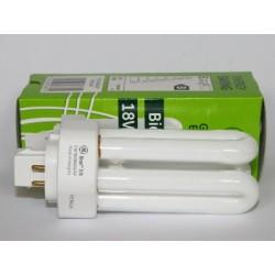 Ampoule fluocompacte GE Biax T/E 18W/827/4P
