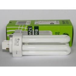 Ampoule fluocompacte GE Biax T/E 32W/827/4P