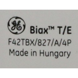Ampoule fluocompacte GE Biax T/E 42W/827/4P