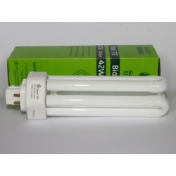Ampoule fluocompacte GE Biax T/E 42W/830/4P