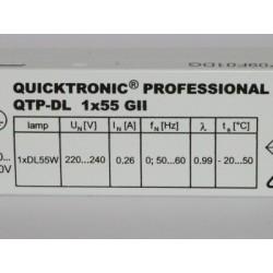 QUICKTRONIC QTP-DL 1X55