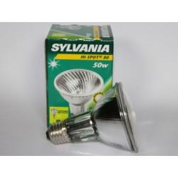 Ampoule halogène SYLVANIA Hi-Spot 80 50W E27 230V SPOT 10°