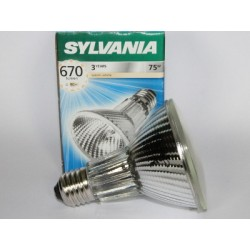 Ampoule halogène SYLVANIA Hi-Spot 80 75W E27 230V FLOOD 25°