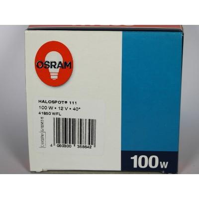 Osram Halospot 111 100W 12V G53 40° WFL