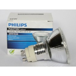 Ampoule PHILIPS MASTERColour CDM-Rm 20W/830 MR16 GX10 25°
