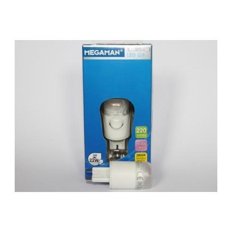 MEGAMAN LED GU9 3W 2800 K