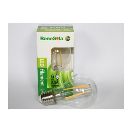 Ampoule à filament LED 6W 2700K E27
