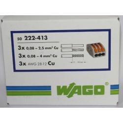 WAGO 222-413 ( boite )