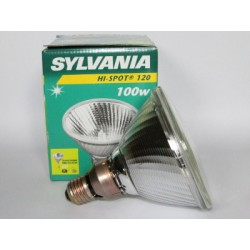 Ampoule halogène SYLVANIA Hi-Spot 120 100W 230V FLOOD 10°